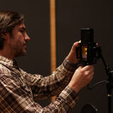 Luke Wooten using the LCT 940 FET TUBE microphone in Station West Studios