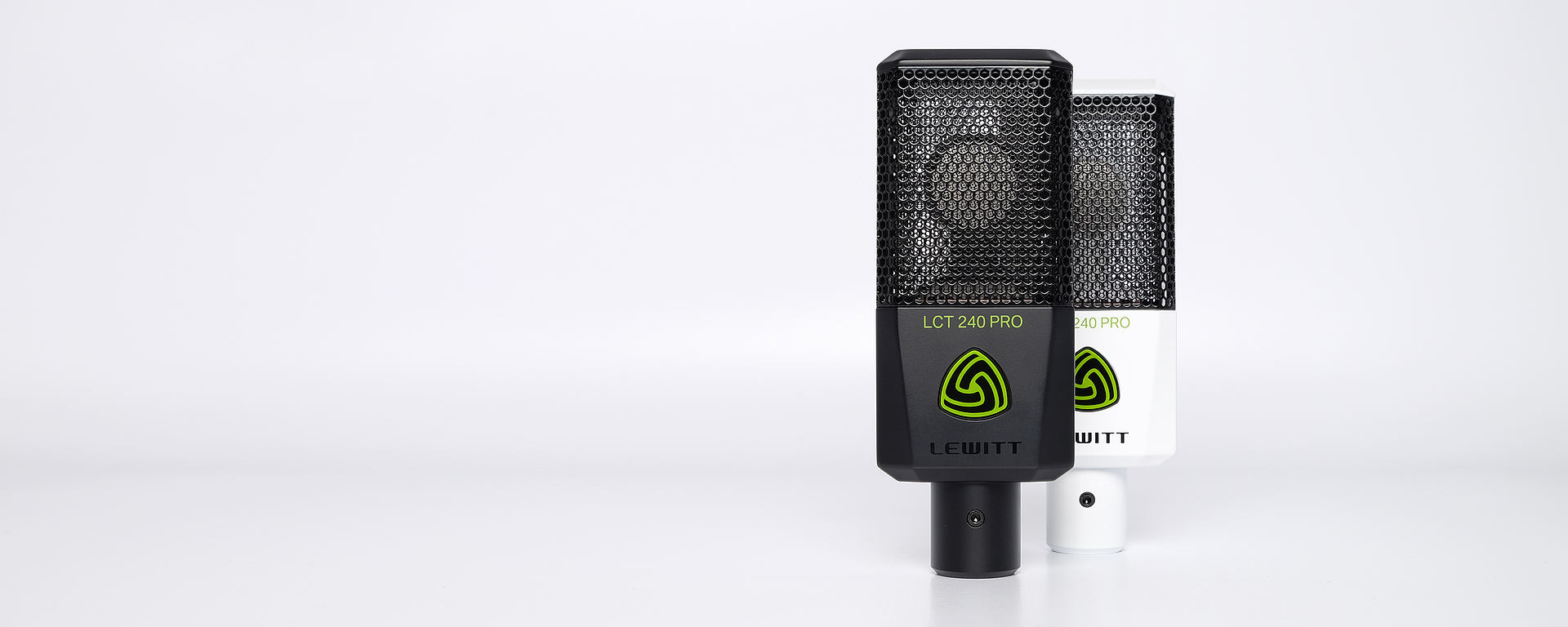 LEWITT LCT 240 PRO studio microphone Single-pattern microphone for all applications.
